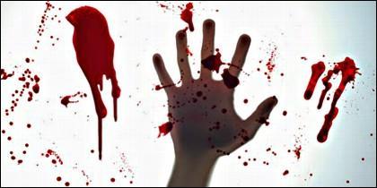Crimen, delito, asesinato y muerte.