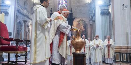 El cardenal Cañizares, en la Misa Crismal