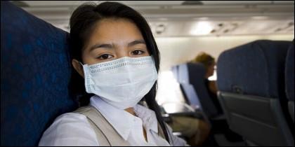Enfermo viajando