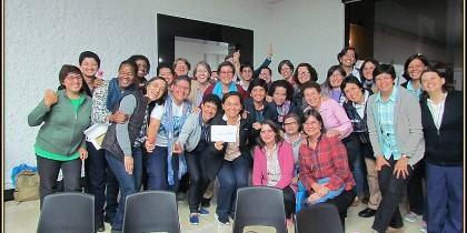Teresianas de América, reunidas en Medellín