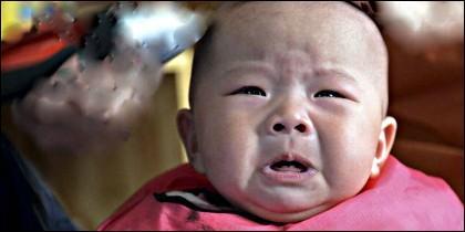 Un bebé chino.