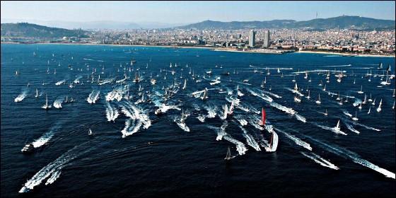 La Barcelona World Race.