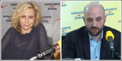 Mónica Terribas y Jordi Graupera.
