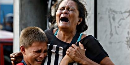 Rabia, dolor, hambre y miseria en la Venezuela chavista.