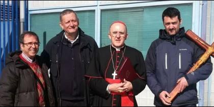 El cardenal de Madrid  trabaja con los reclusos de Soto del Real en un libro sobre el Evangelio en prisión