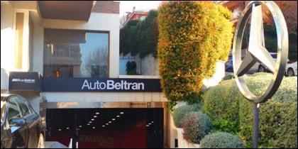 Concesionario de Mercedes Benz en Barcelona.