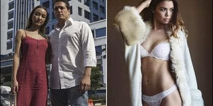 La pareja millonaria y la joven e infortunada modelo