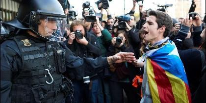 Tensión en Cataluña a cuenta del 'procés'