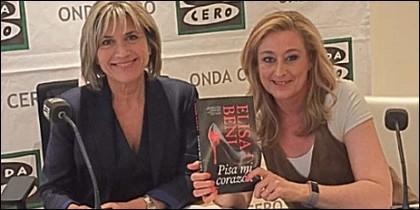 Julia Otero y Elisa Beni.