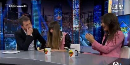 Pablo Motos, Aitana y Ana War.