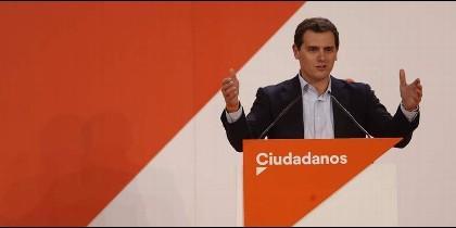 El lider de Ciudadanos Albert Rivera