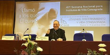 Cardenal Maradiaga, en la semana de la vida consagrada