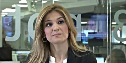 La periodista Sandra Golpe.