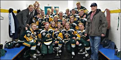Los chavales del equipo de hockey hielo canadiense Humboldt Broncos.