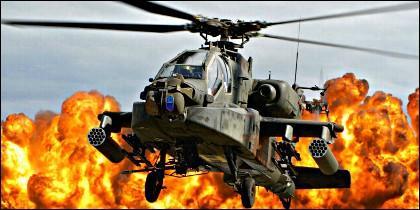 El helicóptero AH-64 Apache es un arma letal.