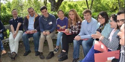 Asistentes al Encuentro Misionero de Jóvenes de la OMP