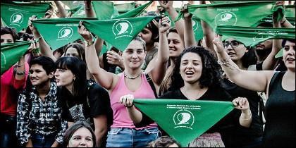 Argentinas pro aborto
