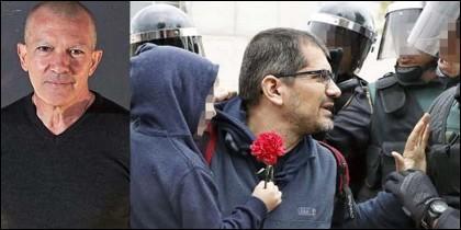 Antonio Banderas; y el padre que usó a su hijo de escudo durante el 1O.