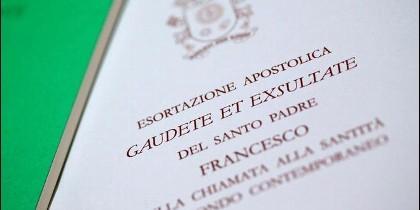 'Gaudete et exsultate', nueva exhortación apostólica del Papa Francisco