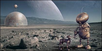Robots que aseguran nuestra inmortalidad en el espacio