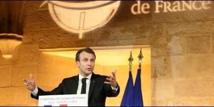 Javier Elzo analiza el 'histórico discurso' de Macron a los obispos franeses