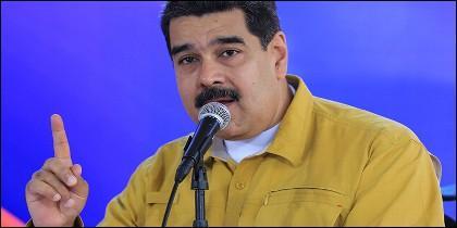 El dictasdor Nicolás Maduro.