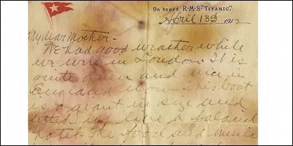 Carta Titanic