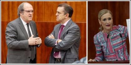 Ángel Gabilondo y José Manuel Franco, los 'azotes' de Cristina Cifuentes.