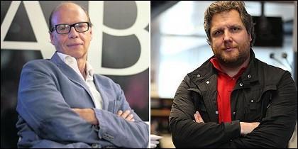 Jaime González y David Gistau, en ABC.