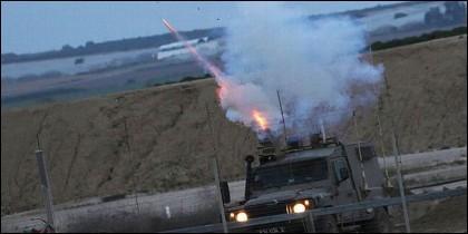 Intercepción de un misil