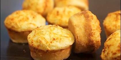 Muffins de queso, receta fácil