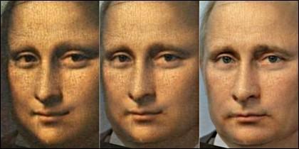 De la Gioconda a Vladimir Putin.