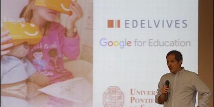 Google for Education y Edelvives, en la UPSA