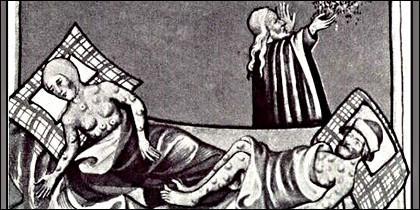 La bacteria Yersinia pestis y la llamada Plaga de Justiniano.