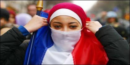 Francesas musulmanas
