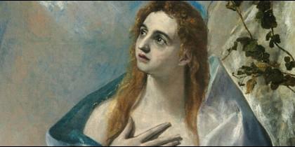 La 'Magdalena penitente' de El Greco