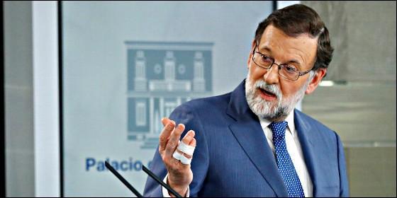 Rajoy, antes de ser destituido: Ha sido un honor haber sido presidente