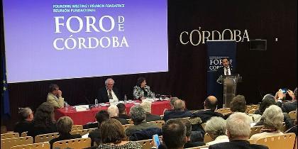 Reunión fundacional del Foro de Córdoba