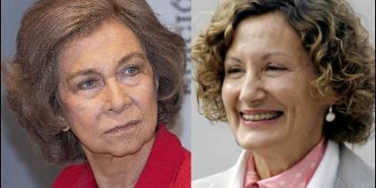 Doña Sofía y Paloma Rocasolano