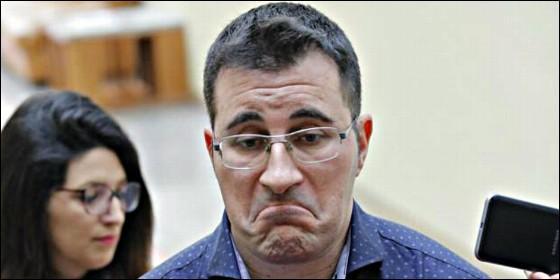 Juan Merlo, ya ex diputado de En Marea-Podemos en el Parlamento de Galicia.