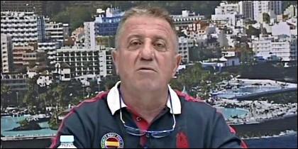 El periodista Pepe López.
