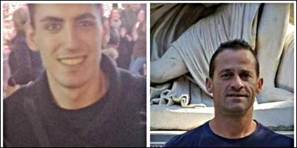 J.A.R., y J.L.G.B., los dos hombres asesinados en Córdoba.