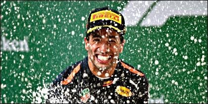 El piloto australiano Daniel Ricciardo (Red Bull).