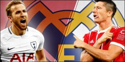 Kane y Lewandowski