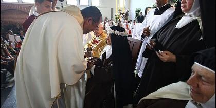 Mario Moronta presidió la misa del festejo