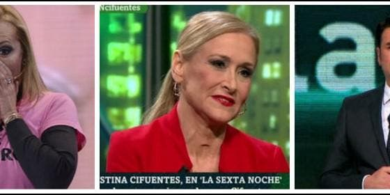Un `belenazo` arruina la cacería de laSexta a Cifuentes y Cuatro remata a la niñera de Podemos