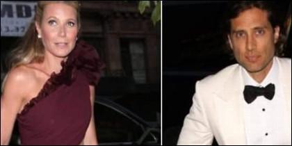 Gwyneth Paltrow y Brad Falchuk