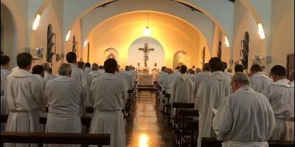 Misa en la Asamblea Plenaria de los obispos argentinos