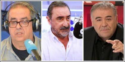 Santiago González, Carlos Herrera y Antonio García Ferreras.