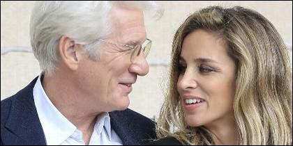 Richard Gere y Alejandra Silva